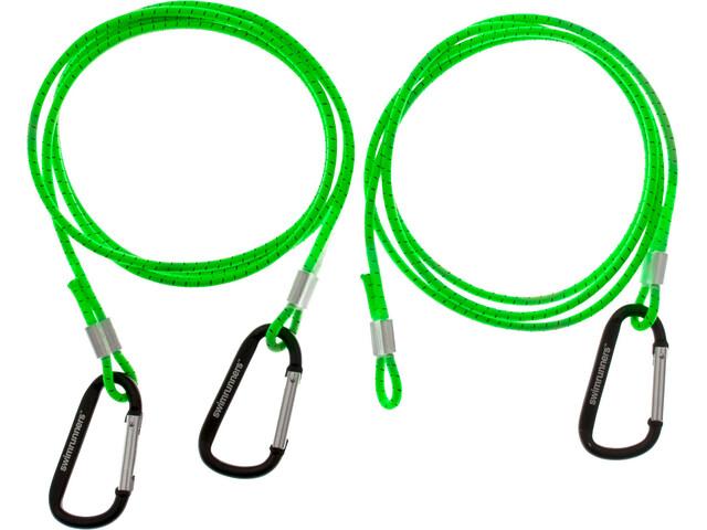 Swimrunners Hook-Cord Pull Belt 3 meter Neon Green